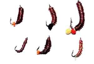 На фото самоделки мормышки из медной проволоки