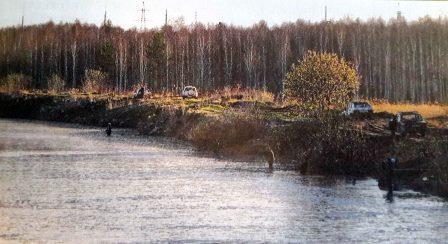 Рыбалка весной на канале Среднеуральской ГЭС
