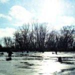 Рыбалка со льда весной на окуня на озере Мостовое Алтайского края